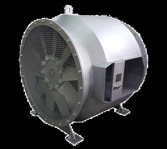 AV-M aksijalni ventilator sa zakretnim lopatcama